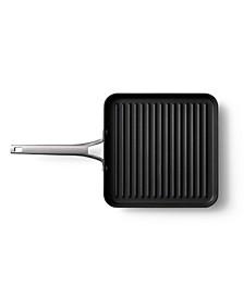 "Premier Hard Anodized Nonstick 11"" Square Grill Pan"
