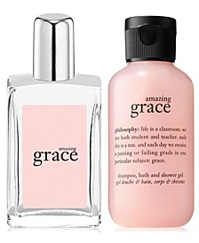 Choose your Free Amazing Grace Trial Size Gift with any $35 philosophy purchase!