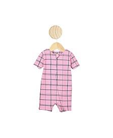 Baby Girl The Snug Short Sleeve Romper