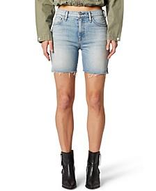 Cutoff Biker Shorts