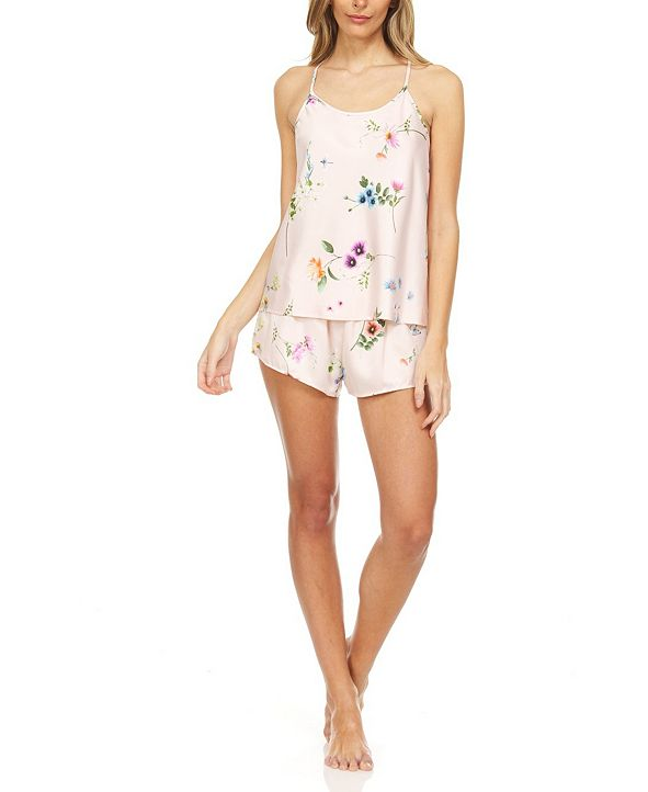 Flora Nikrooz Collection Penelope Cami & Short Pajama Set