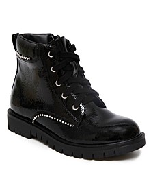 Big Girls Combat Boot