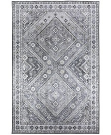 """Rou RO3 Taupe 1'8"""" x 2'6"""" Area Rug"""