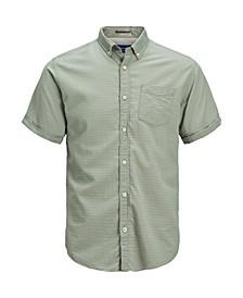 Men's Classic Solid Summer Short Sleeve Shirt