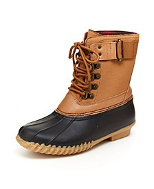 Cordera Women's Lace Up Duck Boots
