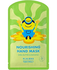 Minions Nourishing Hand Mask, 2 mitts.