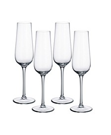 Purismo Special Champagne Glass, Set of 4