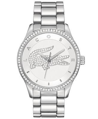 Lacoste Watch, Women's Victoria Stainless Steel Bracelet 40mm 2000826