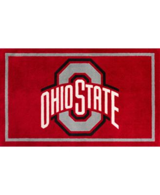 """Ohio State Coloh Red 5' x 7'6"""" Area Rug"""
