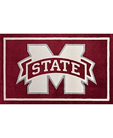 """Mississippi State Colmt Maroon 1'8"""" x 2'6"""" Area Rug"""