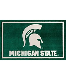 "Michigan State Colmc Green 1'8"" x 2'6"" Area Rug"