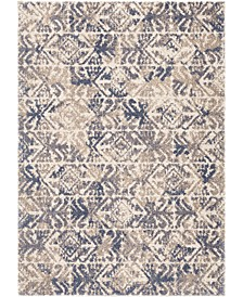 "Newberg Amber Point Silver 5'3"" x 7'6"" Area Rug"