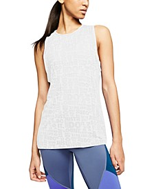 Just Do It Burnout Tank Top