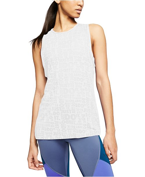 Nike Women's Just Do It Burnout Tank Top
