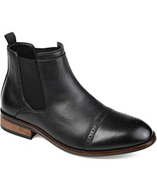 Garrett Men's Cap Toe Chelsea Boot
