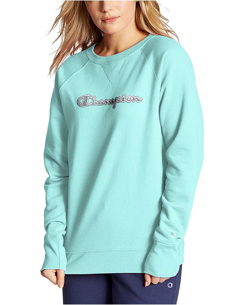 Champion Women's Powerblend Boyfriend Sweatshirt