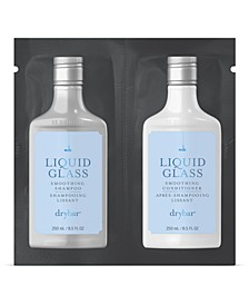 Receive a Free Liquid Glass Shampoo and Conditioner, 17 oz with any $30 Drybar purchase!