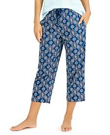 Cotton Capri Pajama Pants, Created for Macy's