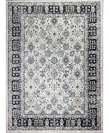 """Plymouth Ply-08 Ivory 7'9"""" x 9'9"""" Area Rug"""