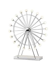 Coney Large LED Ferris Wheel Lamp
