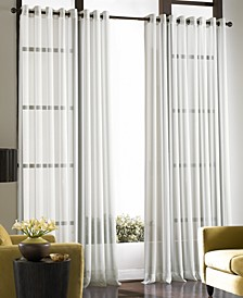 "CLOSEOUT! Sheer Soho Voile Grommet 59"" x 120"" Panel"