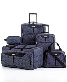 5pc. Printed Luggage Set