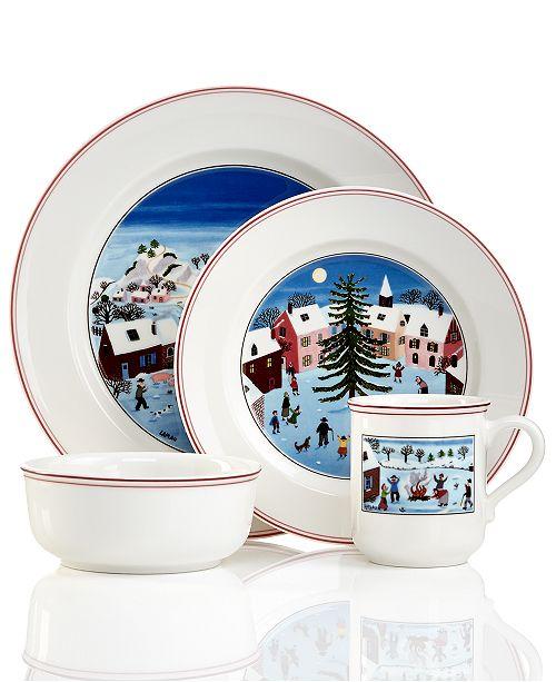 Villeroy & Boch Design Naif Christmas Collection