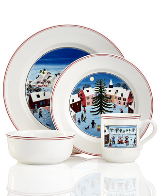 Villeroy boch design naif christmas collection for Villeroy and boch christmas