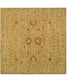 Antiquity At822 Brown 6' x 6' Square Area Rug