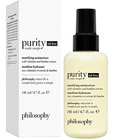 Purity Made Simple Oil-Free Mattifying Moisturizer, 4.7-oz.
