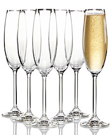 Champagne and toasting flutes macys lenox tuscany champagne flutes 6 piece value set solutioingenieria Image collections