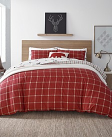 Corbett Plaid Twin Comforter Set