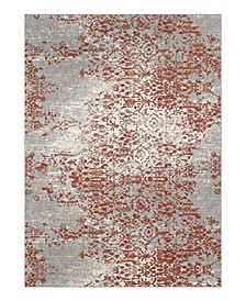 Soiree Nirvana Copper By Virginia Langley 8' x 11' Area Rug