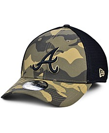 Men's Atlanta Braves Camo Neo 39THIRTY Cap