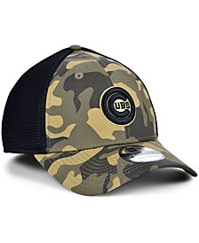 Men's Chicago Cubs Camo Neo 39THIRTY Cap