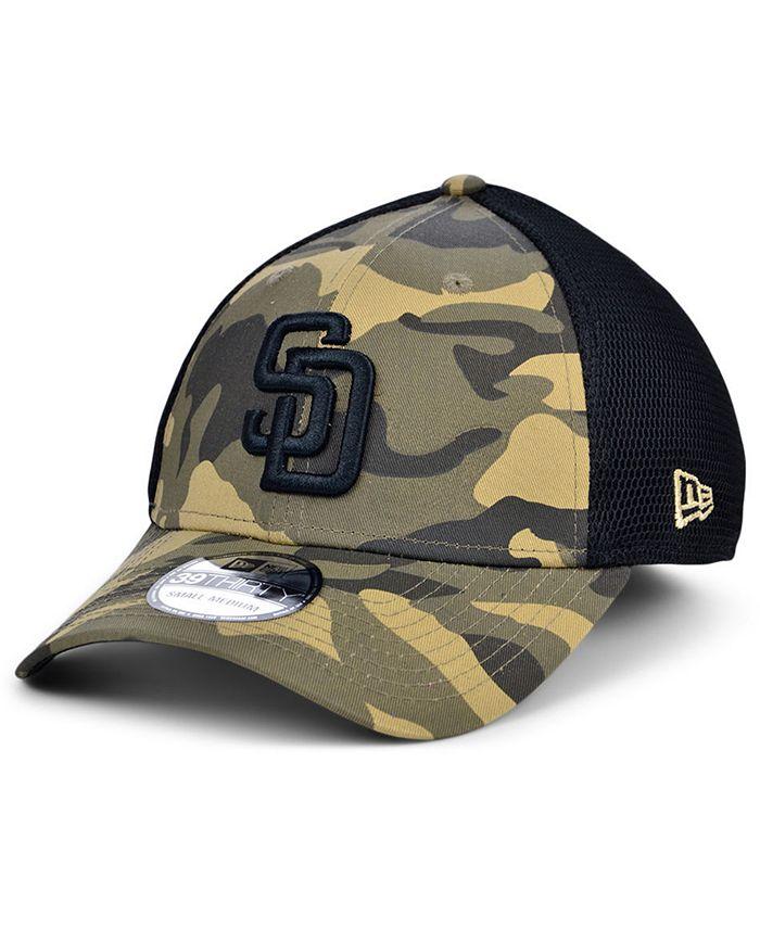 New Era - Men's San Diego Padres Camo Neo 39THIRTY Cap