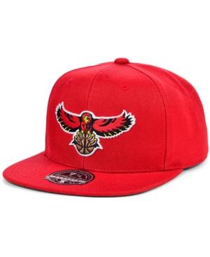 Mitchell & Ness Atlanta Hawks Team Ground Fitted Cap