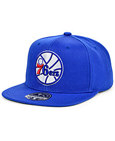 Mitchell & Ness Philadelphia 76ers Team Ground Fitted Cap