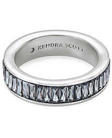 Baguette-Crystal Ring