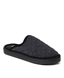 Women's Emily Quilted Jersey Extended Tab Scuff Slippers