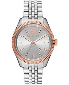 Men's Lexington Stainless Steel Bracelet Watch 42mm