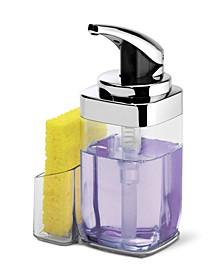 22-Oz. Square Push Pump Soap Dispenser with Caddy