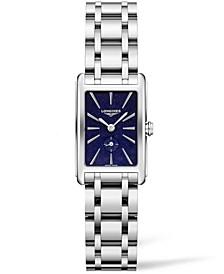 Women's Swiss Dolce Vita Stainless Steel Bracelet Watch 20x32mm