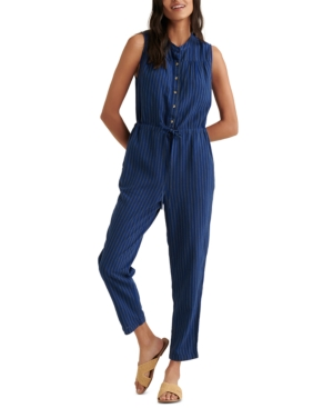 Lucky Brand HAYLEY STRIPED JUMPSUIT