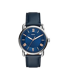 Men's Copeland Blue Leather Strap Watch 42mm