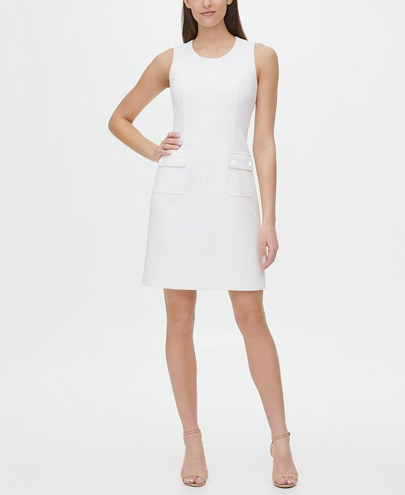 Tommy Hilfiger Pique Scuba Pocket Dress