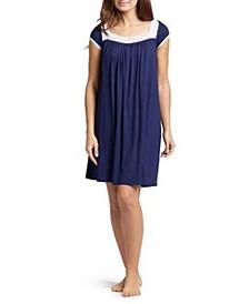Lacy Nursing Nightgown