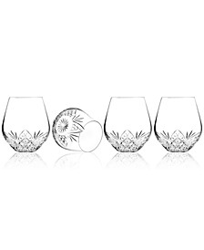 Barware, Dublin Set of 4 Stemless Goblets
