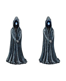 Lit Ghoulish Figures Figurines