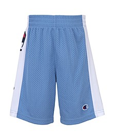 Little Boys Champion Script Mesh Short